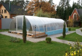 Раздвижные павильоны для бассейнов